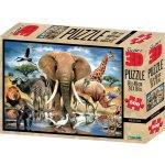 Lamps 3D Puzzle Africa 500 dielov