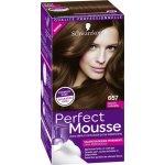 Schwarzkopf Perfect Mousse farba na vlasy 657 Čokoládový karamel bcec637c291