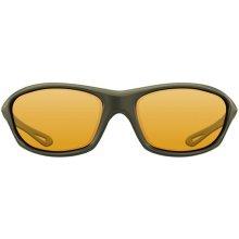 Korda Polarizační Sunglasses Wraps Gloss olive/yellow