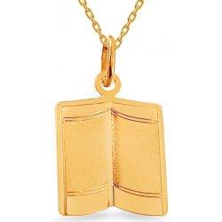 d84f32610 iZlato Forever Zlatý prívesok Otvorená kniha IZ10928 od 73,99 ...