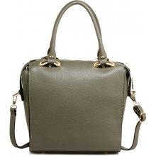 kabelka cez rameno eko kožená biznis sivá b22f762bce3