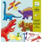 Kreatívna sada - Dino hračky z papiera Djeco