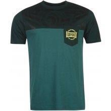 Tapout Tonal Print T Shirt Mens Pine/Forest