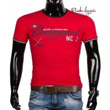 10972-5 Bavlnené pánske tričko s originálnou potlačou