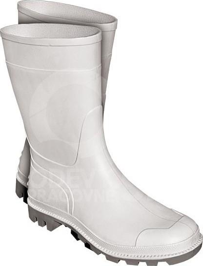 Pracovná obuv Pracovná obuv čižma biela SIMPLE - Zoznamtovaru.sk 95189cd187f