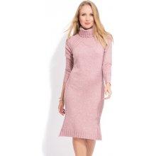 d9de6b19aac9 FILLE DU COUTURIER dámské šaty Avril ružová