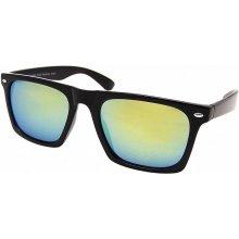 Ray Flector W2451/Square Revo Lens Wayfarer Black/Green