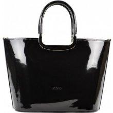 69146b2596 Grosso luxusní kabelka S7 lakovaná čierna