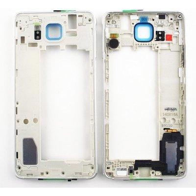 Kryt Samsung G850 Galaxy Alpha stredný strieborný