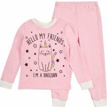 95db6fd7b Garnamama dievčenské svietiace pyžamo ružové