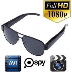 Spy okuliare s kamerou a FULL HD záznamom alternatívy - Heureka.sk 0e30e436a4b