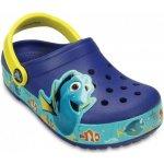 Crocs Lights Finding Dory Clog K Cerulean Blue/Lemon