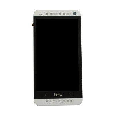 LCD Displej + Dotykové sklo + Prední kryt HTC One M7
