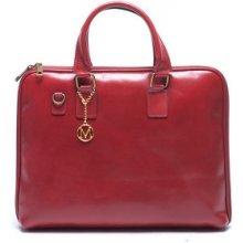 Mangotti kožená kabelka 375 Rosso