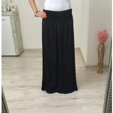 Dámska maxi sukňa čierna