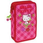 Hello Kitty poschodový peračník - plný - čerešne