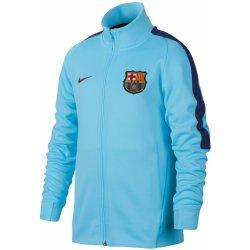 Nike FC Barcelona mikina bunda detská bledomodrá Galéria ... 82d0c344ef4