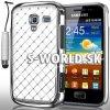 Zadný kryt Samsung Galaxy Ace 2 - Chrome Diamant biela