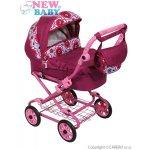 New Baby Detský kočík pre bábiky Ružová