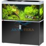 Eheim Incpiria 400 akvárium so skrinkou a osvetlením, čierny lesk/strieborná 400 l