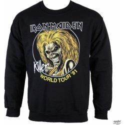Iron Maiden Killers 81 ROCK OFF Pánska mikina IMSWT04MB alternatívy ... 19b5f82dfdd