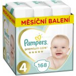 Pampers Premium Care 4 MAXI 9-14 kg 168 ks