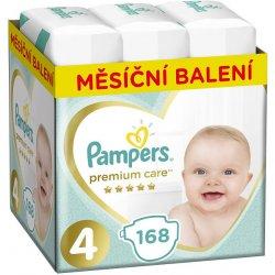 Pampers Premium Care 4 MAXI 9-14 kg 168 ks