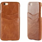 Púzdro iDeal of Sweden - Dual Card Apple iPhone 6/6S hnedé