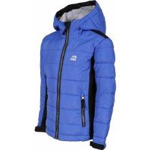 Alpine Pro chlapčenská bunda Wiliso - modrá