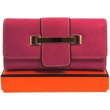 JLUK Luxusná dámska peňaženka z ekokože Hilda Faux 6003P