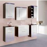 Malys-group Kúpeľňa MEGI 10 wenge/biely lesk