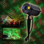 Laserový projektor nočnej oblohy vodeodolný Big Dipper MW001RG