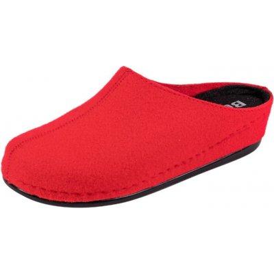 Dámske zdravotné papuče BZ250 červené