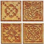 Dimex, keramické obklady - mozaika hnedá - 40 x 40 cm