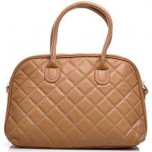Karamelová elegantní kabelka