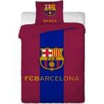 Jerry Fabrics obliečky FC Barcelona znak bavlna 140x200 70x90