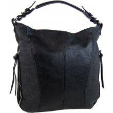 moderná veľká dámska kombinovaná kabelka YH1649 čierna 219e2a597f8