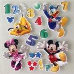 IMPOL TRADE 3D samolepky na stenu detské Mickey, Minnie, Donald, Goofy 3DD601MY 30 x 30 cm