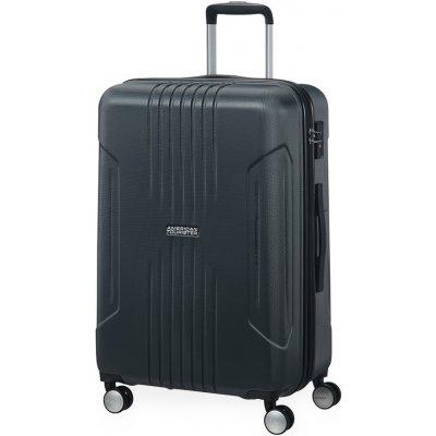 cestovny kufor American Tourister Střední Tracklite Spinner 34G 71/82 L černá