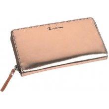 775578ed68bcc Pierre Andreus Zlatá dámska kožená peňaženka RFID v darčekovej krabičke