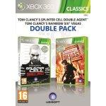 Tom Clancys Splinter Cell: Double Agent + Tom Clancys Rainbow Six: Vegas