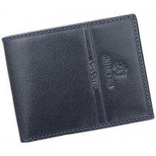 Emporio Valentini Pánska kožená peňaženka 563 992 čierna d830ea50368