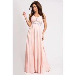 Eva   Lola spoločenské šaty s kamienkami ružové 9707-2 alternatívy ... 70b94f191d6