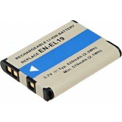 T6 power EN-EL19 batéria - neoriginálne