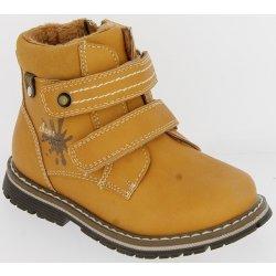 V+J Chlapčenské zimné topánky okrovej alternatívy - Heureka.sk 6c849821fb1