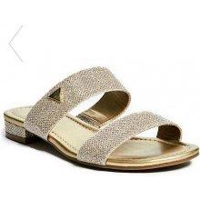 d7d92ada9b8a Guess Korine Slide Sandals zlaté