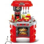 BABY MIX kuchynka Little Chef Baby Mix červená 32 ks