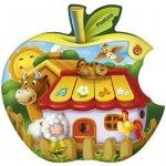 Olymptoy Tablet dětský jablíčko poznej zvířátka na farmě plast Zvuk