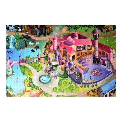 Vopi Dětský koberec Ultra Soft Zámek 130 x 180 cm