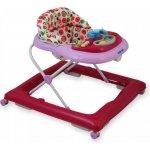 Baby Mix Detské chodítko pink s hračkami